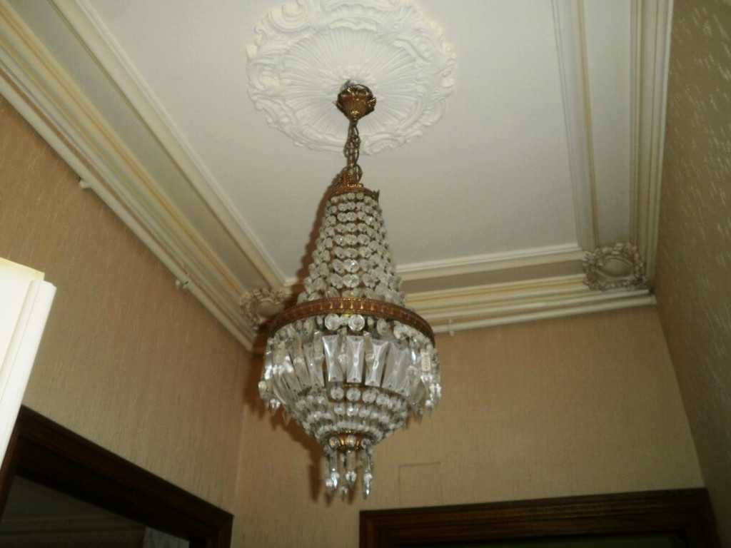A Chandelier Pampilles - XXth