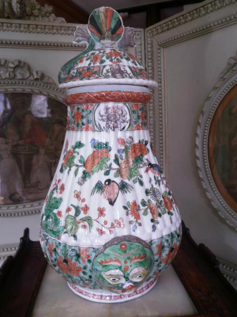 Fontaine En Porcelaine – XIXème Siècle.