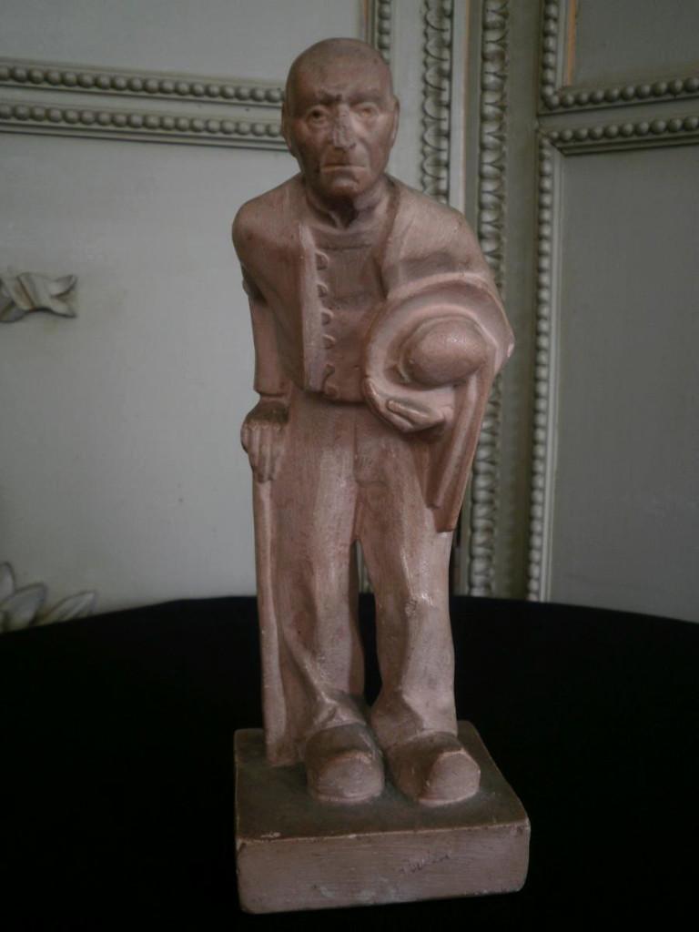 Sculpture «le Breton» - R. Gourdon – XXème