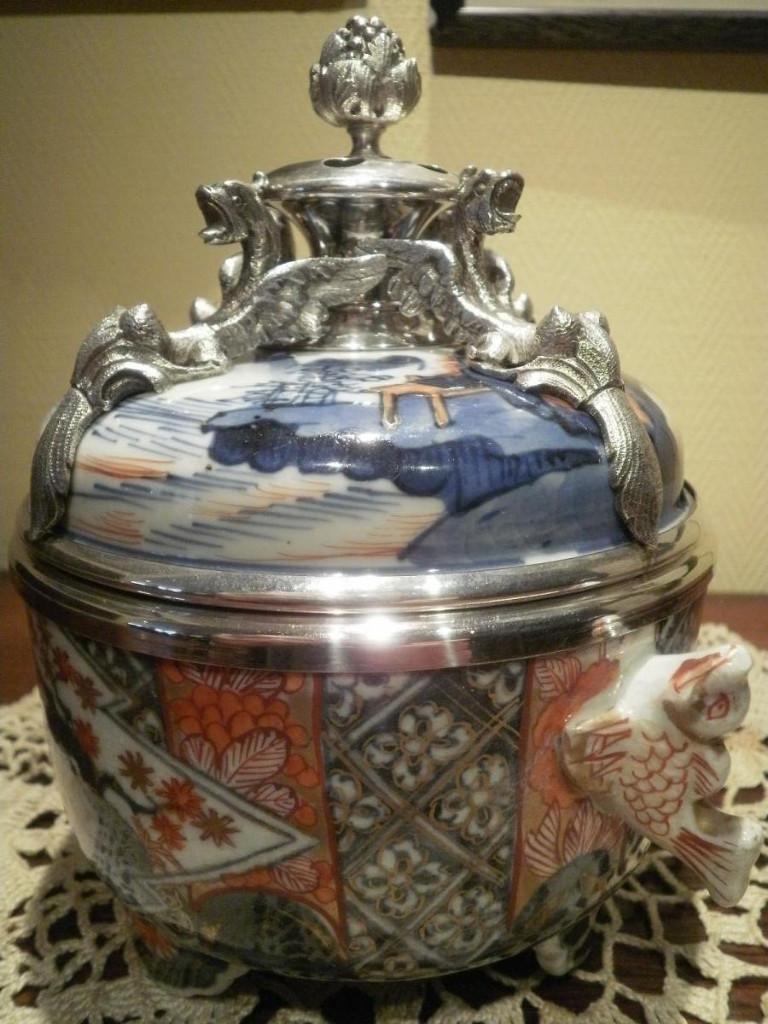 Bouillon Couvert - Imari Japon XVIIIème