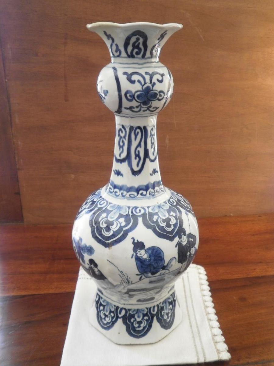 Vase Delft – XVIIIème