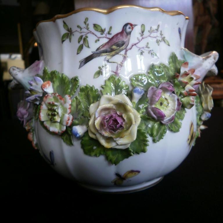 Porcelaine Paris – Rafraîchissoir Fin XIXeme