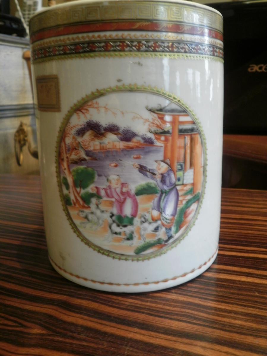 Porcelain From China - XVIIIth Century - Large Mug