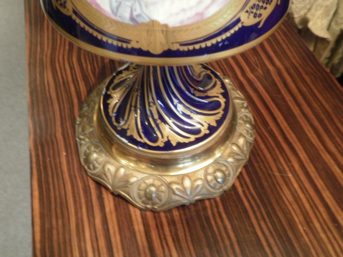 Porcelaine De Sevres - Vase Couvert-photo-3