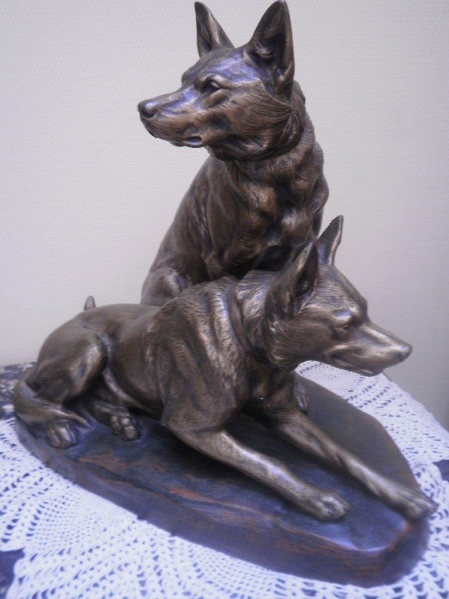 Bronze De Louis Riche, Numéroté (1877-1949).