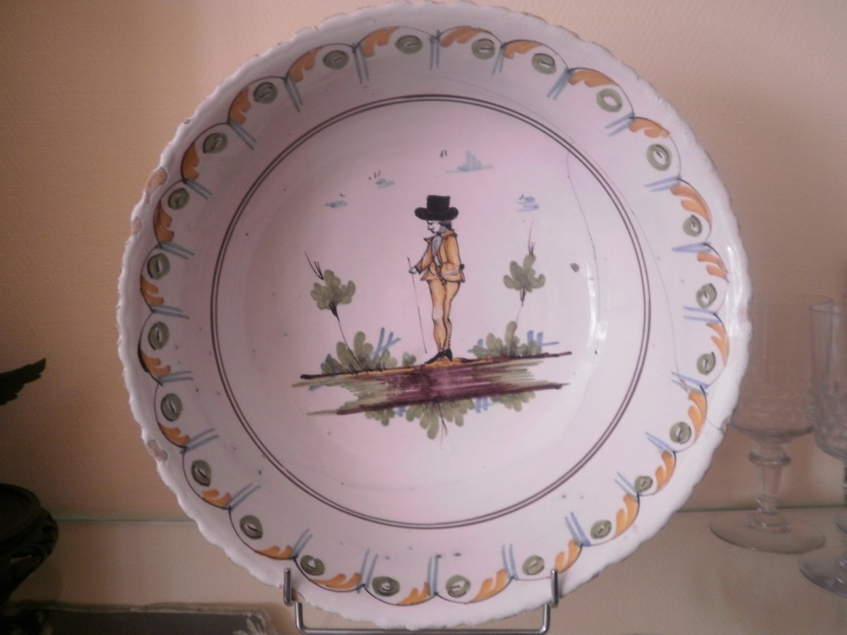 Nevers Salad Bowl Eighteenth Century