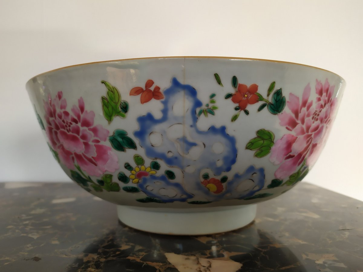 China - India Company - Punch Bowl - XVIIIth