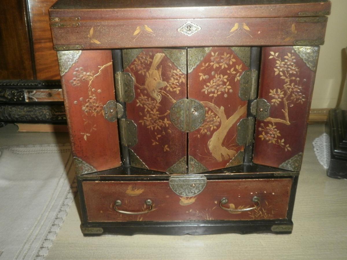 Petit Cabinet Japon - XXeme Siecle-photo-3