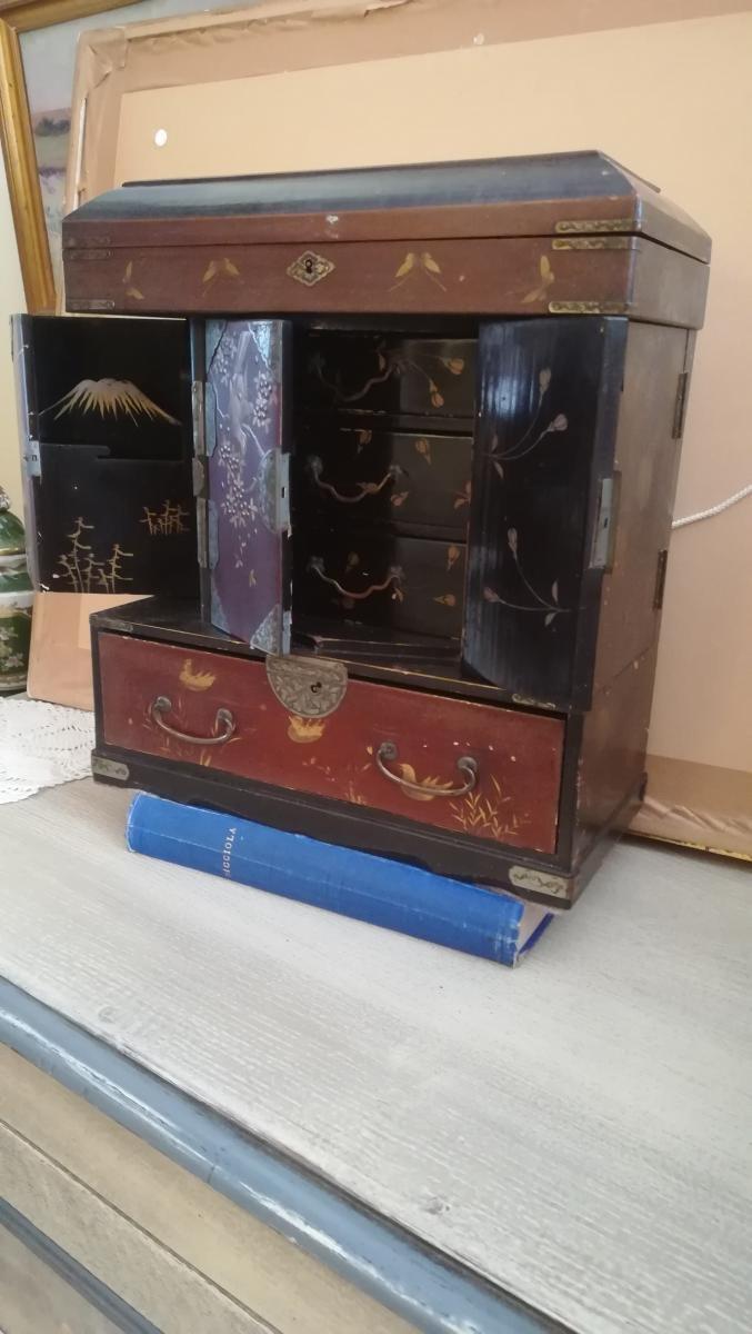 Petit Cabinet Japon - XXeme Siecle-photo-4