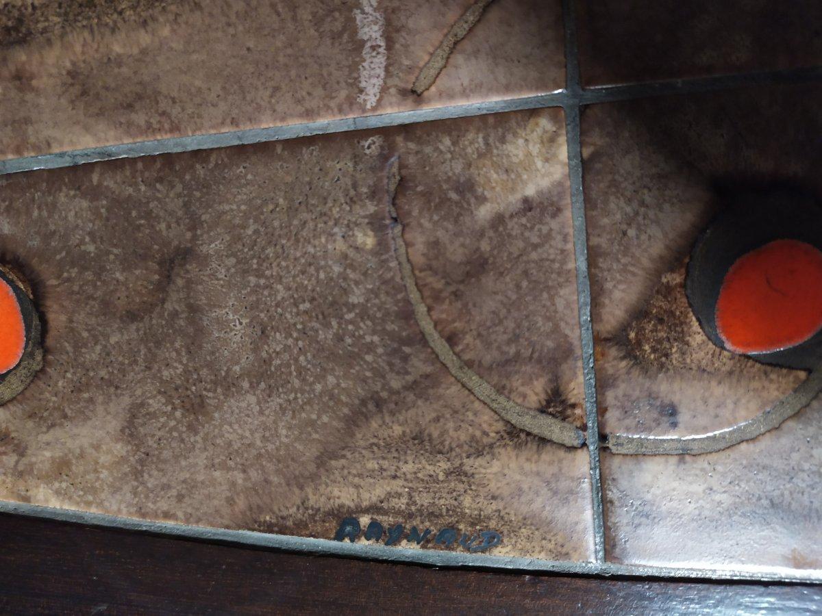 Table Basse  En Ceramique «raynaud» – Annees 60-photo-4