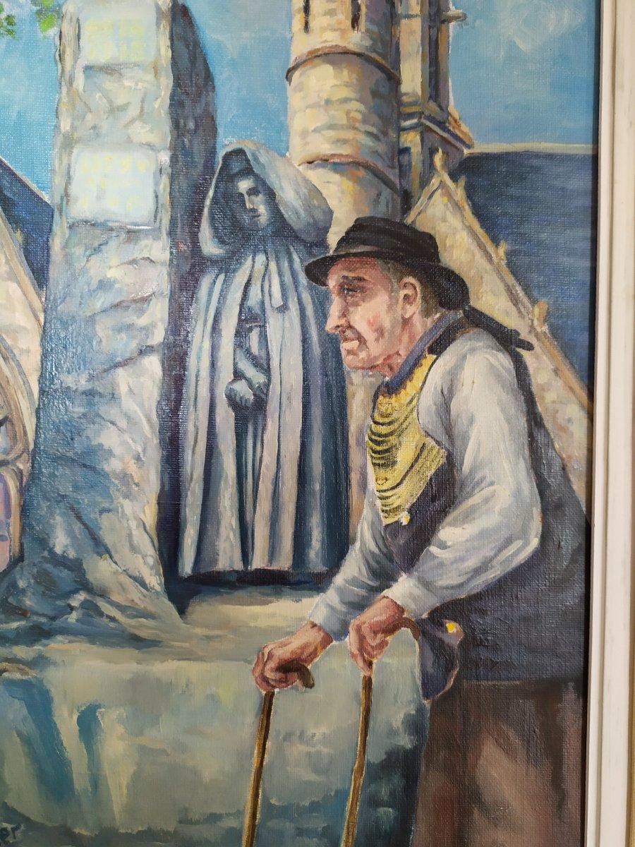 Table Besnier - Old Man In Penmach.-photo-2