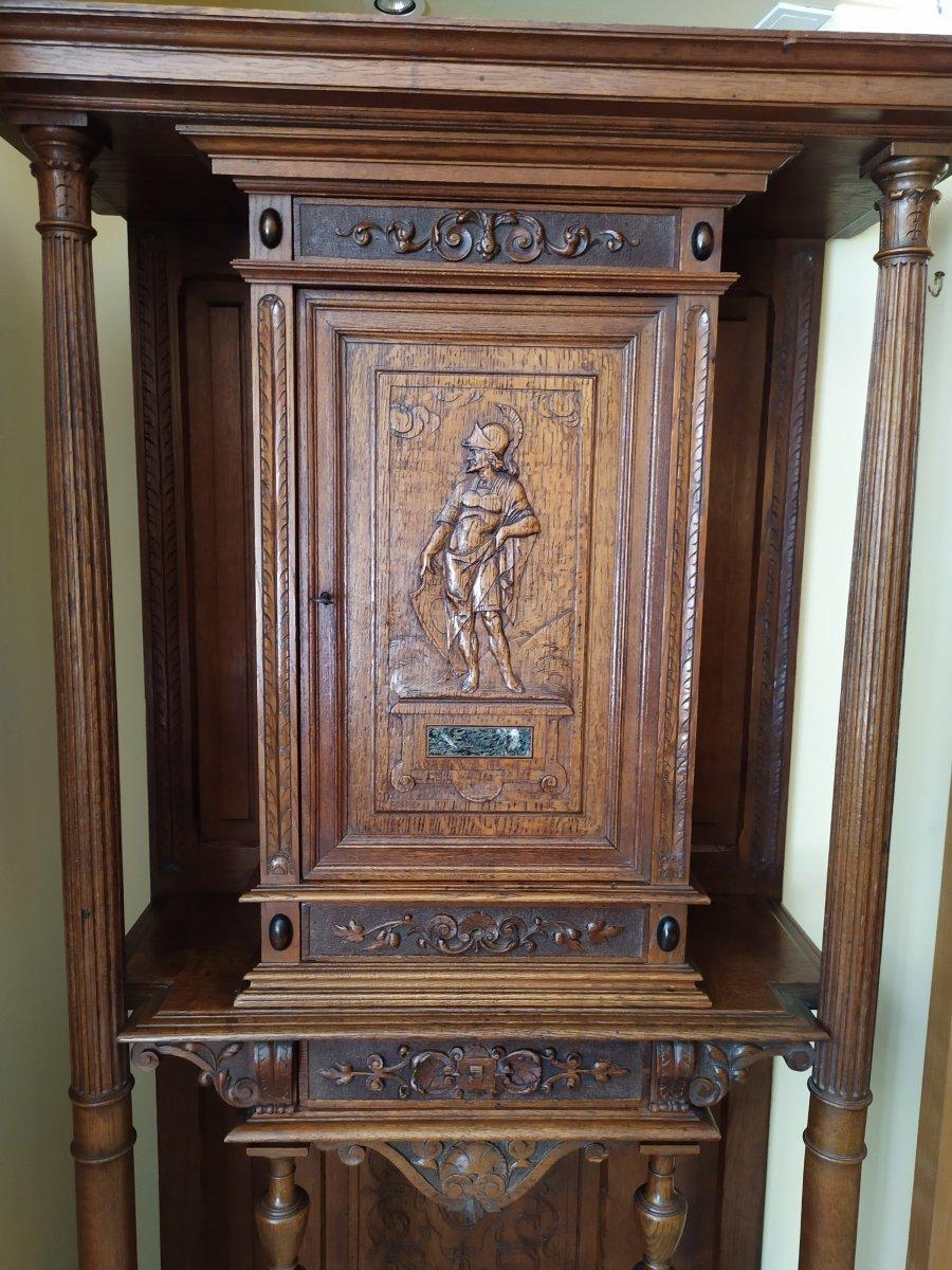 Cabinet De Style Renaissance – 19ème Siècle.-photo-2
