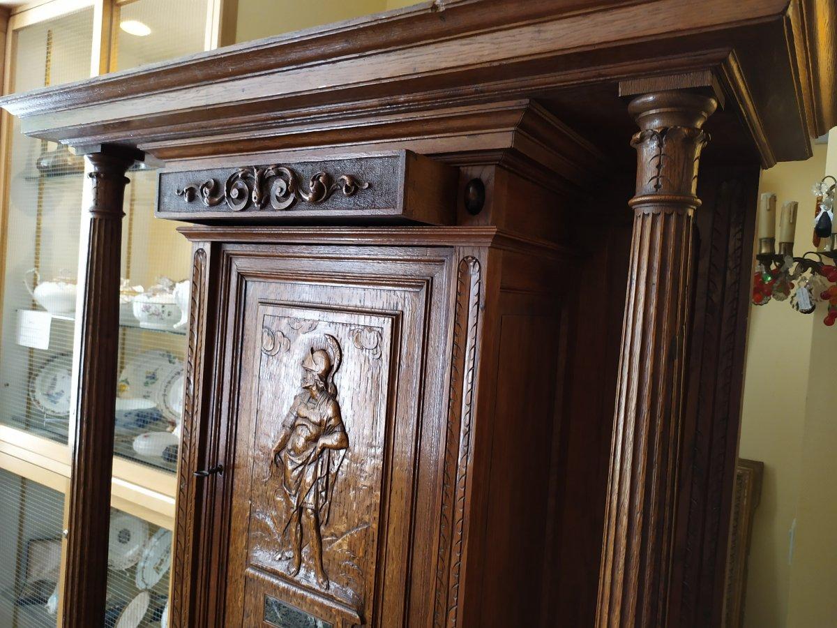 Cabinet De Style Renaissance – 19ème Siècle.-photo-3