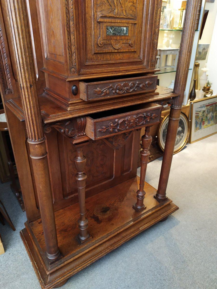 Cabinet De Style Renaissance – 19ème Siècle.-photo-4