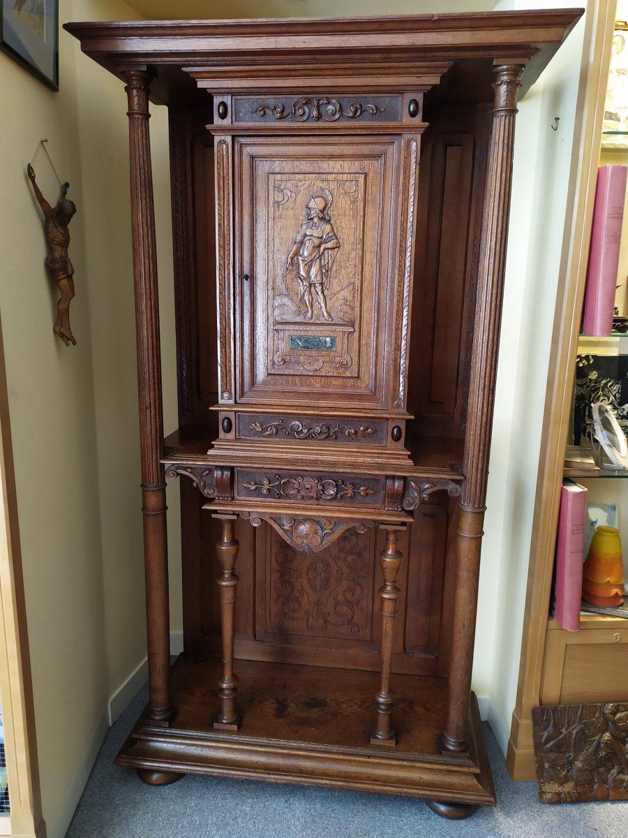 Cabinet De Style Renaissance – 19ème Siècle.