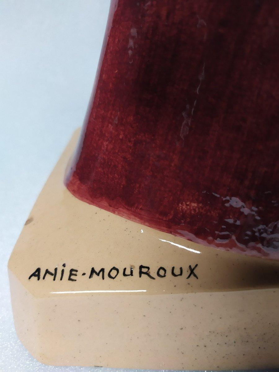 Faience Quimper – Anie Mouroux – Buste Ste Anne.-photo-2