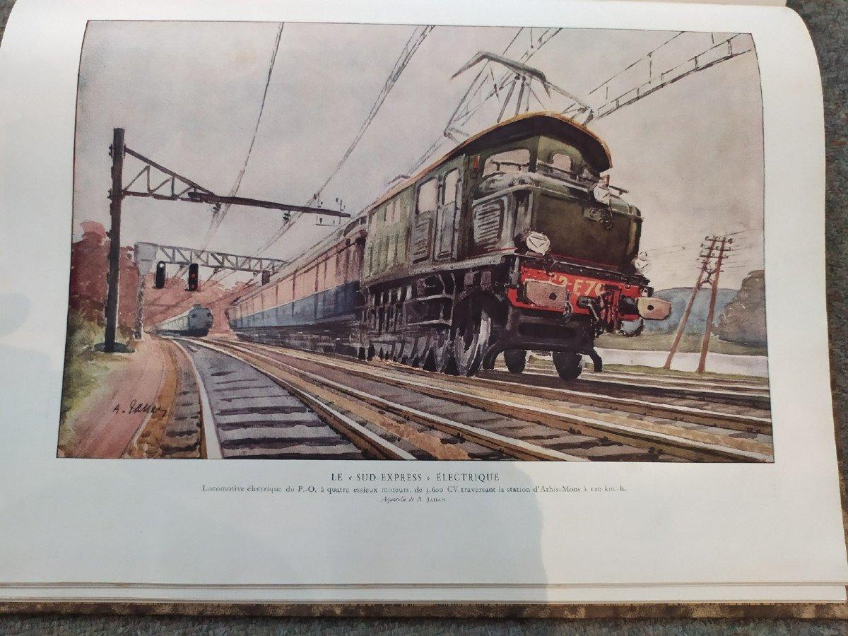Grands Ouvrages De l'Illustration: La Locomotion- 20ème Siècle--photo-1