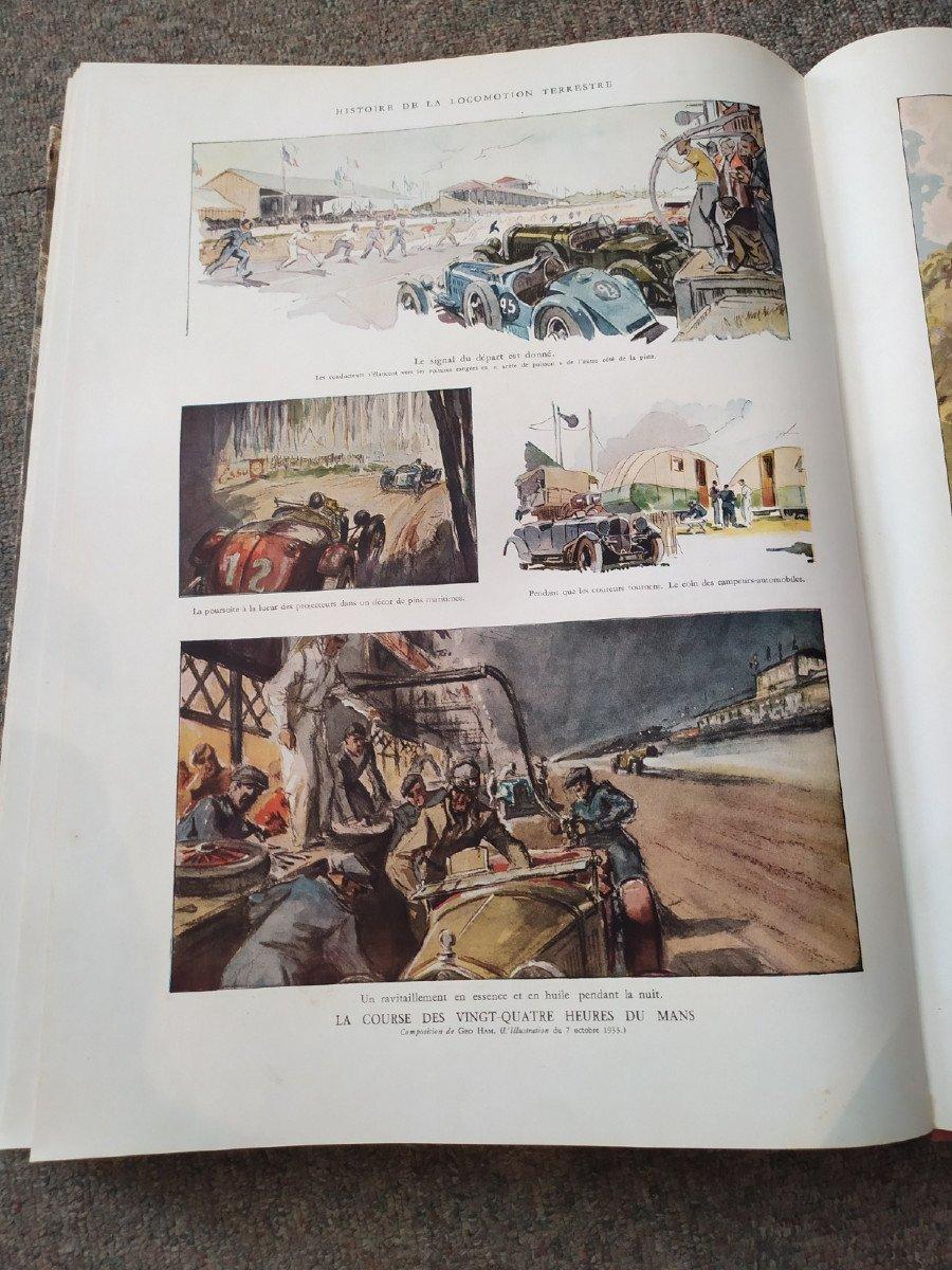 Grands Ouvrages De l'Illustration: La Locomotion- 20ème Siècle--photo-8