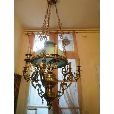 luminaires ancien sur proantic. Black Bedroom Furniture Sets. Home Design Ideas