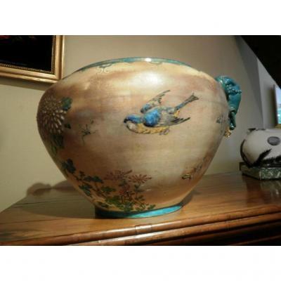 Ceramique XIXème -  Edouard Gilles.