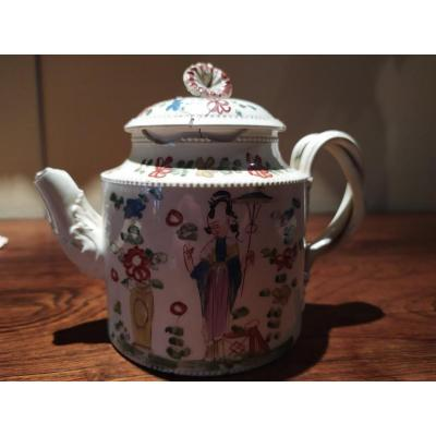Theory In Fine Faience - Leeds- Eighteenth Century