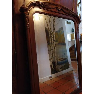 Art Nouveau Mirror Ice - XXth.