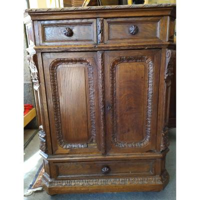 Low Sideboard In Chene - Brand