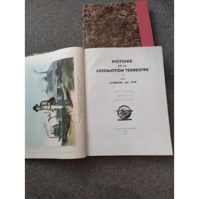 Grands Ouvrages De l'Illustration: La Locomotion- 20ème Siècle-