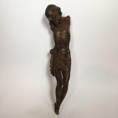 Ecole Vénitienne Du XIIIe Siècle, Crucifix En Bois