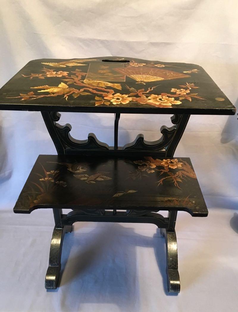 Napoleon III  Rare Ecran / Table d'Appoint