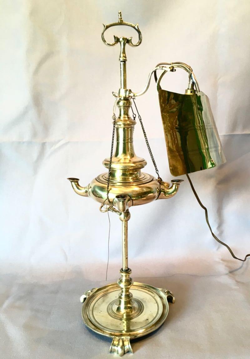 Lampe Florentine à Déflecteur