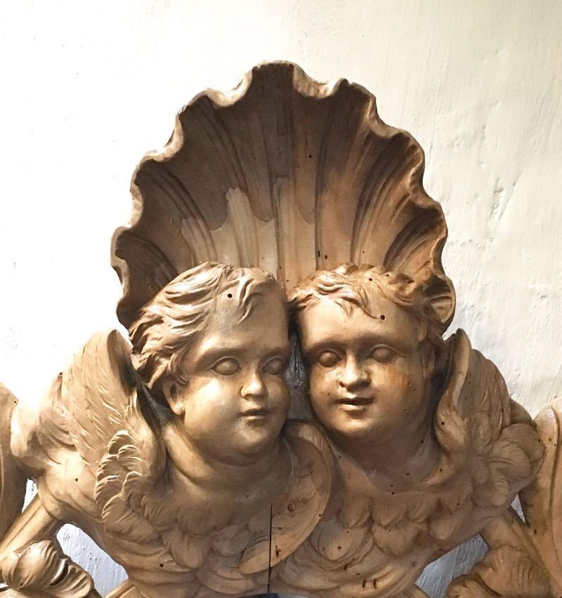 Miroir En Noyer XIXe