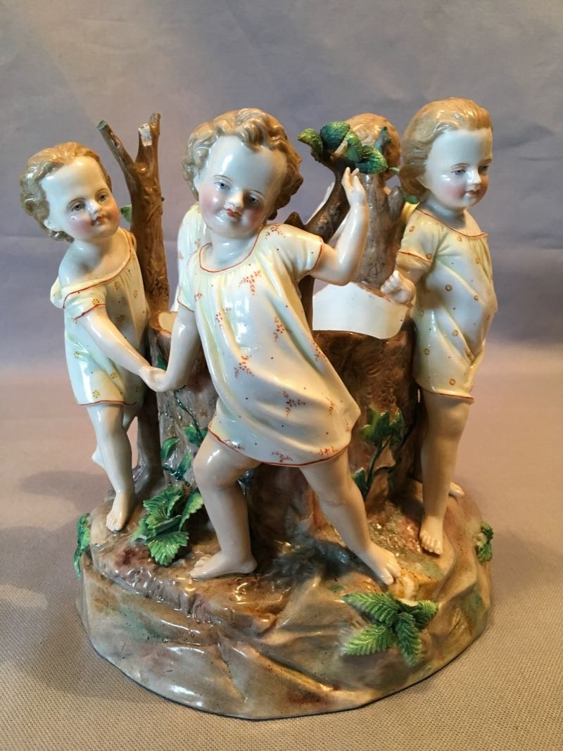 Late 19th Century Porcelain Group