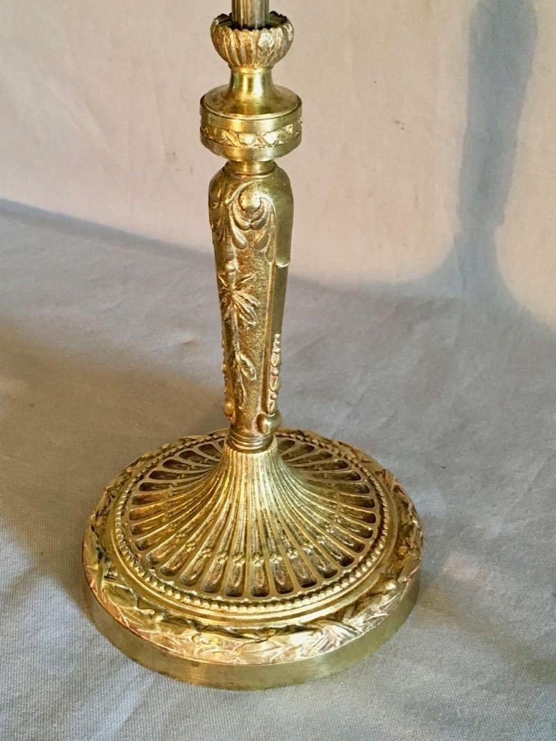 Grande Lampe De Bureau Art Nouveau-photo-2