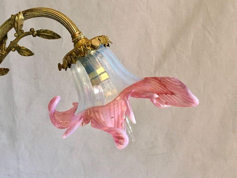 Grande Lampe De Bureau Art Nouveau