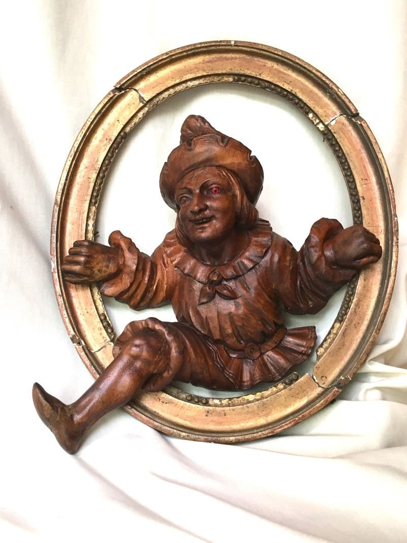 19th Century Carved Wood