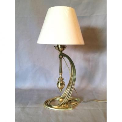 Art Nouveau Period Lamp / Wall Light