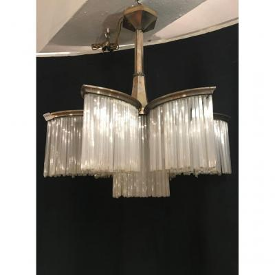 Lustre d' Epoque Art Deco