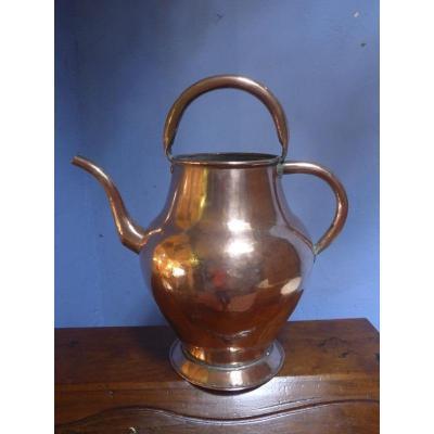 Provencal Copper Jug Late 18th Century