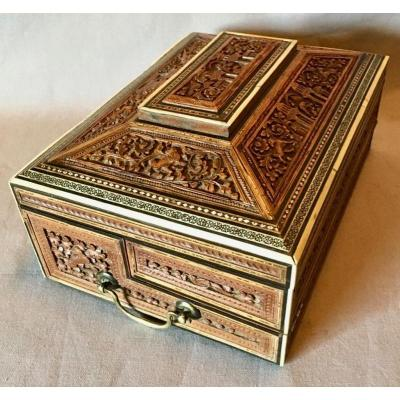 Nineteenth Indo-persian Writing Box