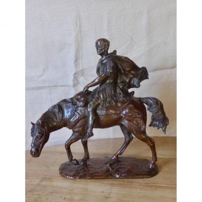 Bronze Jules César Signé R. Nannini