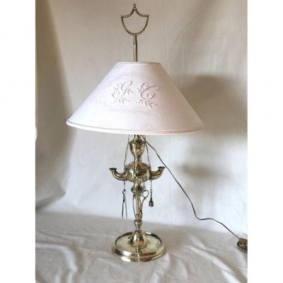 Grande Lampe à Huile Florentine