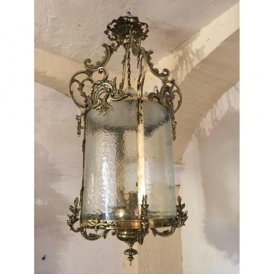 Large Cylindrical Lantern Nineteenth