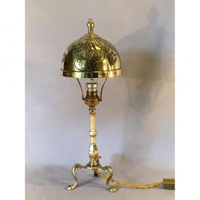 Lampe Art Nouveau  Anglaise Début XXe