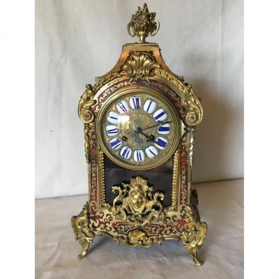 Pendulette Napoleon III de Style Boulle