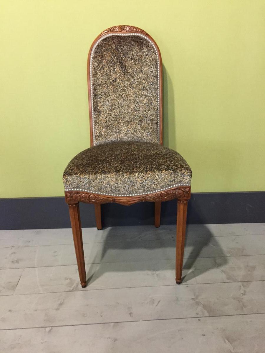 4 Chaises Art Deco