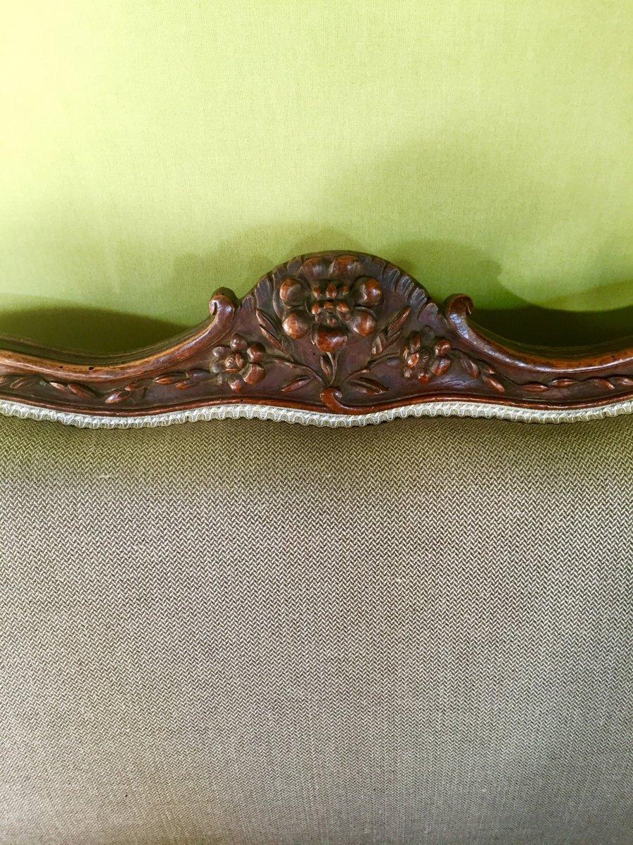 Canapé D'époque Louis XV -photo-1