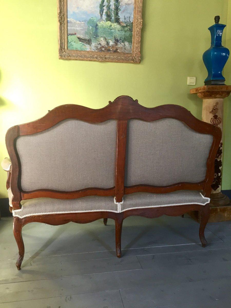 Canapé D'époque Louis XV -photo-6
