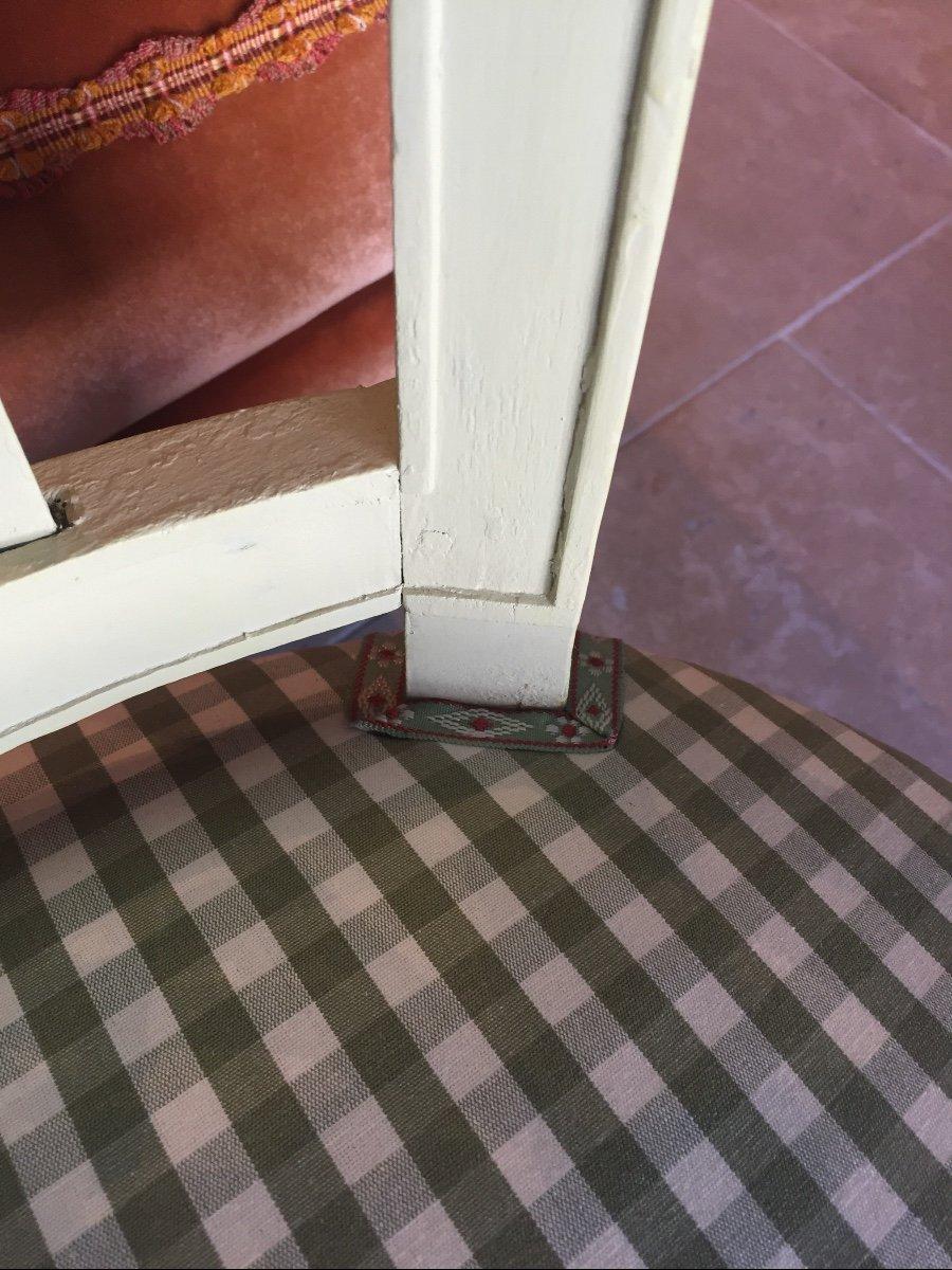 Paire De Chaises D'époque Directoire -photo-2
