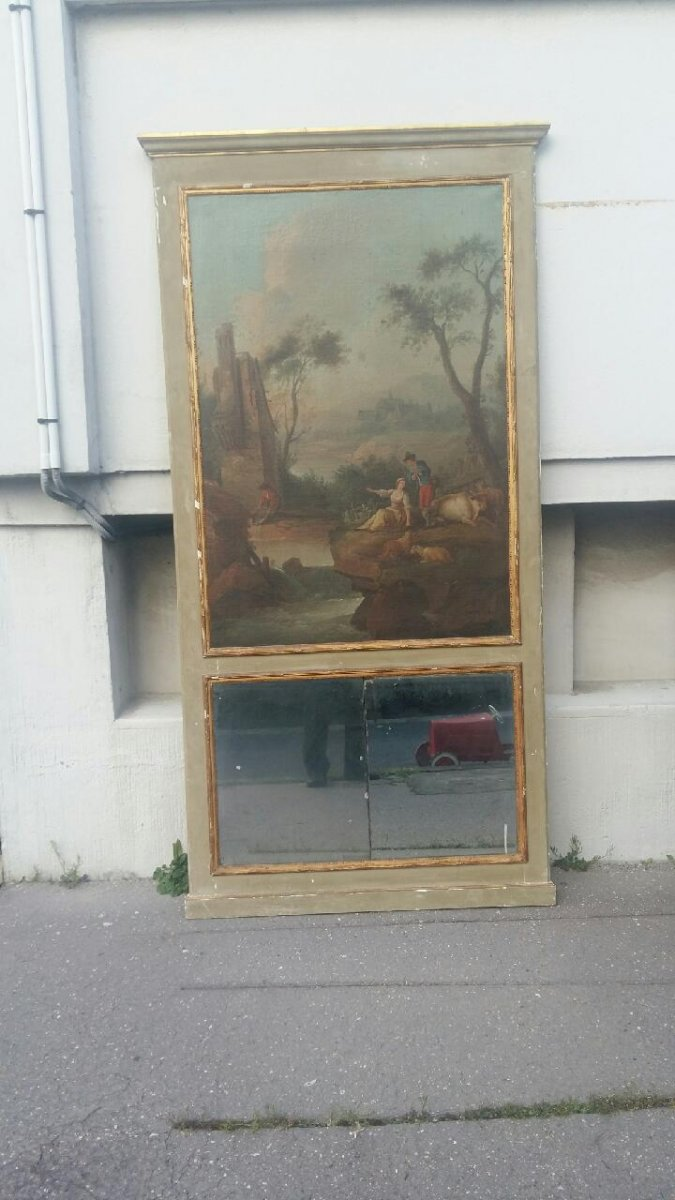 Grand Trumeau 19th